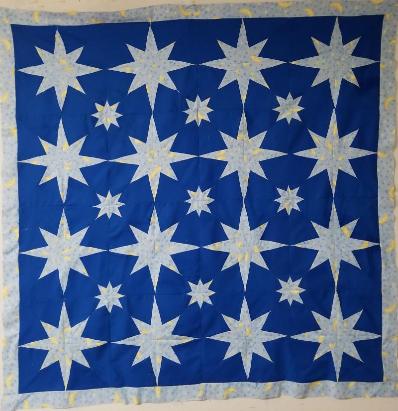 starlight quilt pattern, paper pieced patterns,
