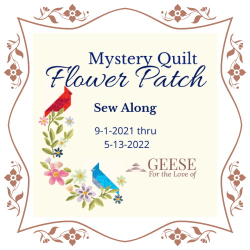 mystery sew along quilt logo